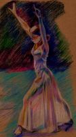Dancer Drawing by 80sdisco