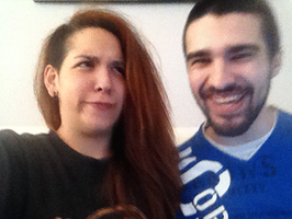 Selfie with Ines [GIF] by iPwnPT
