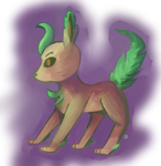 Leafeon by Cisee