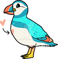 [CUSTOM] Speckled Puffin by CassMutt