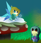 Butterflyscars on fairies by AestheticTotem