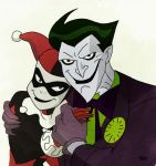Joker and Harley by RiaSal