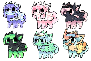 custom slimerock pup batch 3 by puqqie