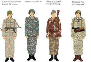 Early Warsaw Pact camo Part 2 by Adyb234
