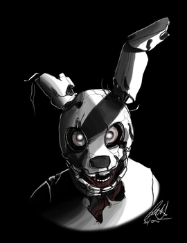 Springtrap by Wolf-Shadow77