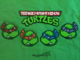 Teenage Mutant Ninja Turtles by RockerDragonfly