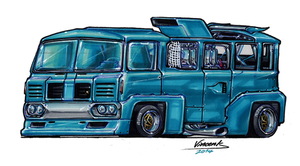 Bus Vintage Racer by vsdesign69
