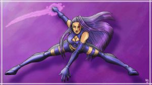 Ninja Psylocke by Ludi-Price