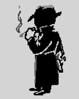Pixel Vector - Mysterious Stranger Perk 'Fallout' by TheMidknightStar