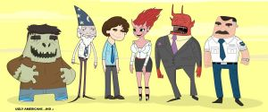 ugly americans by jasonshawnhickman