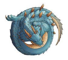 Lagiacrus, Lord of the Seas by cweinman