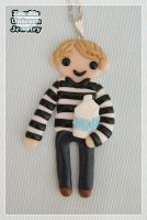 John Watson with milk necklace by Galadriel89