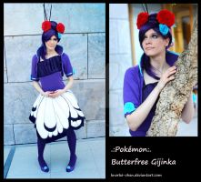 Butterfree - Fancy Gijinka Cosplay by Knorke-chan