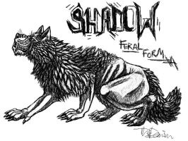-:Shadow The Werewolf:- by Colette-Anderson