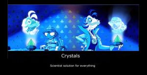 Sly cooper- Crystals by whitedragonguardian