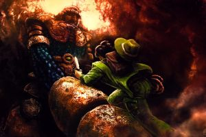 La Mulana: Lemeza vs. Sakit by GoldenOne