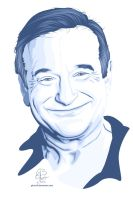 Robin Williams by GB-ART3
