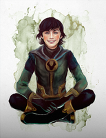 Kid Loki by umak00