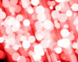 Bright Red Bokeh Texture by Externity