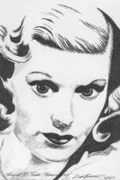 Lucille Ball by Trishap