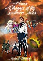 Hans : Phoenix of the Southern Isles - Book Cover by Michael-GoldenHeart