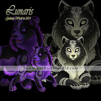 Lunaris for Gothicat World (October 2014) by x-Tsuzurao-x