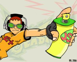 Beat: Jet Grind Radio by Segavenom