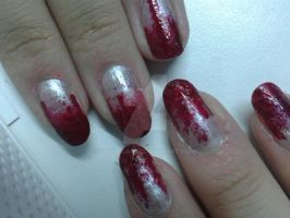 Bloody nails by Nath-Carr