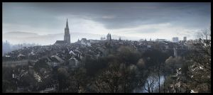 Bern Panorama by jinchilla