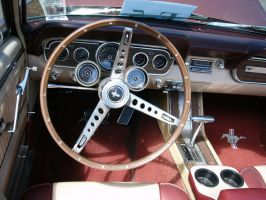 1966 Mustang GT Rally Pac dashboard by RoadTripDog