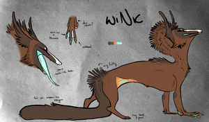 wiNk: Character Auction (closed) by coyotesoot