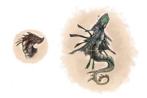 Creature Designs by Kityria