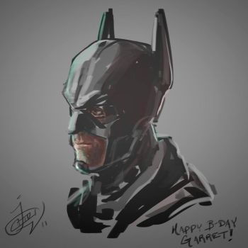 Batman Speedpaint by greeni-studio