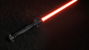 Sith Lightsaber Concept by testedpancake