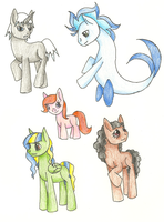 My Little Pony Adoptables 2 (All Adopted) by SophieWarriorofLight