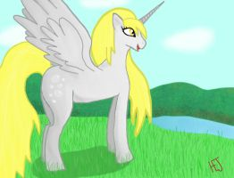 Derpy the Alicorn by StoneButterflies