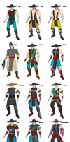 MK - Kung Lao Evolution WIP - Updated by SovietMentality