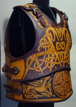 Leather Armour 3 side by Maxrobo