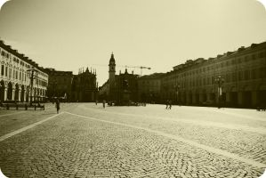 Piazza I by OviXPhotography