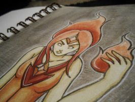 The Flame Princess by starbuxx