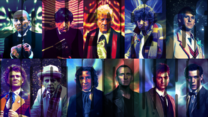Doctor Who Wallpaper v2 by Elmic-Toboo