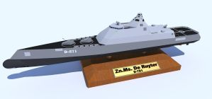 Zn.Ms De Ruyter DDX design by kaasjager