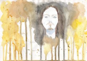 Ville Valo In Gold by ALExIA483