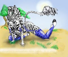 Playful Zebra - finnished by malmad