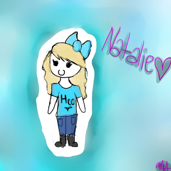 Natalie Quick Doodle by Maggehx3