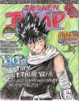 shonen jump contest cover by miharuyume