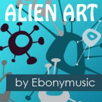 Alien art by Ebonymusic