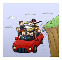 horne section fall off a cliff by dongpeiyen1000