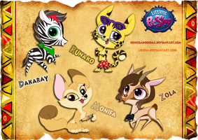 LPS Adopts [African pack. 4] CLOSED by Lirissa
