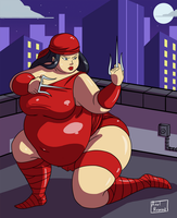 No More Skinny Girls 2 - Ep 12 - Elektra by Axel-Rosered